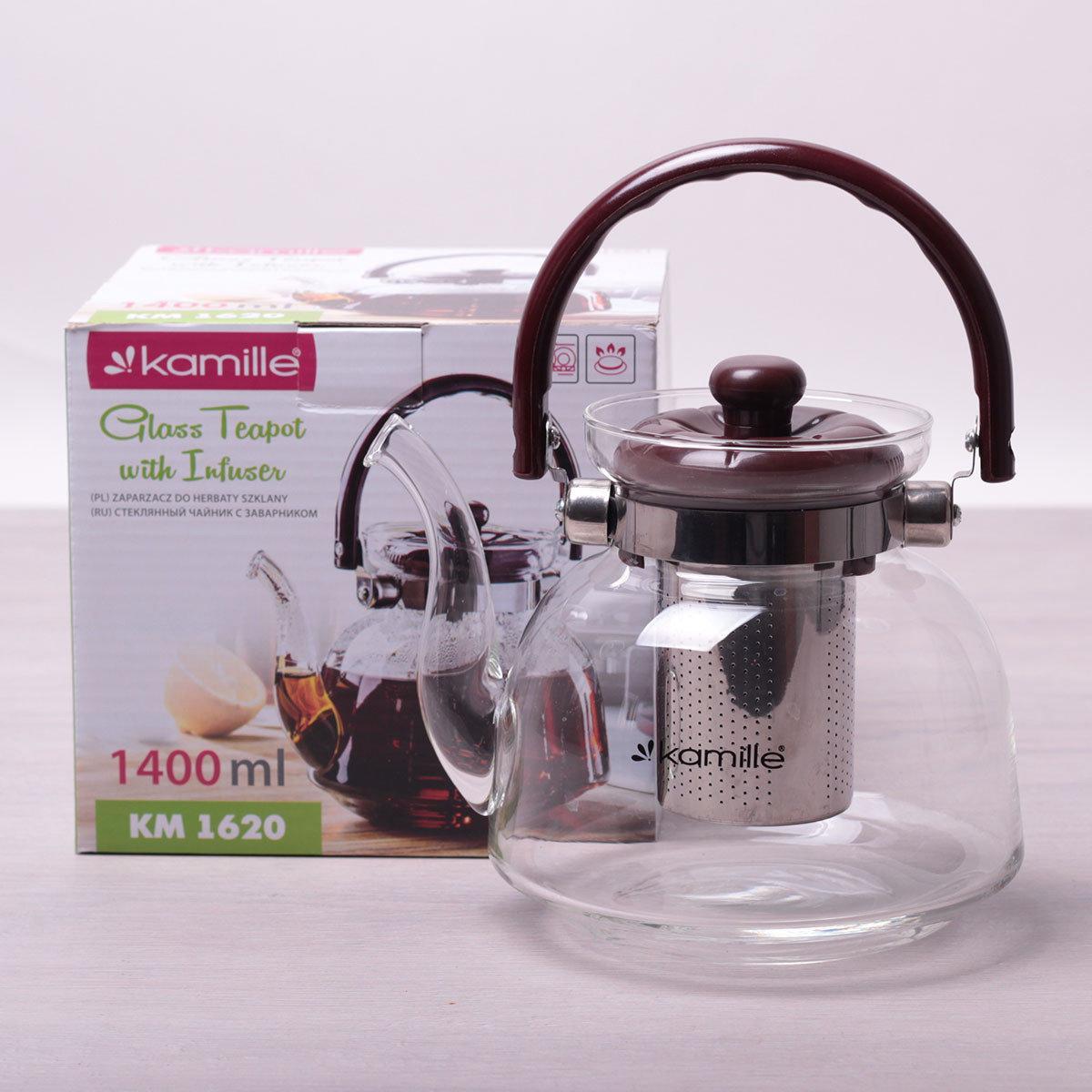 Чайник заварочный Kamille 1400 мл.
