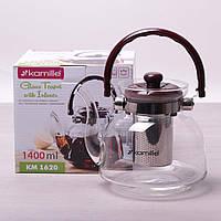 Чайник заварочный Kamille 1400 мл., фото 1