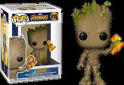 Фигурка Funko Pop Guardians of the Galaxy Groot Стражи Галактики Грут GG G 416