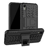 Чехол Armor для Huawei Y5 2019 противоударный бампер черный, фото 1