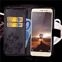 Чехол Clover для Xiaomi Redmi Note 3 / Note 3 Pro книжка кожа PU женский Black, фото 1