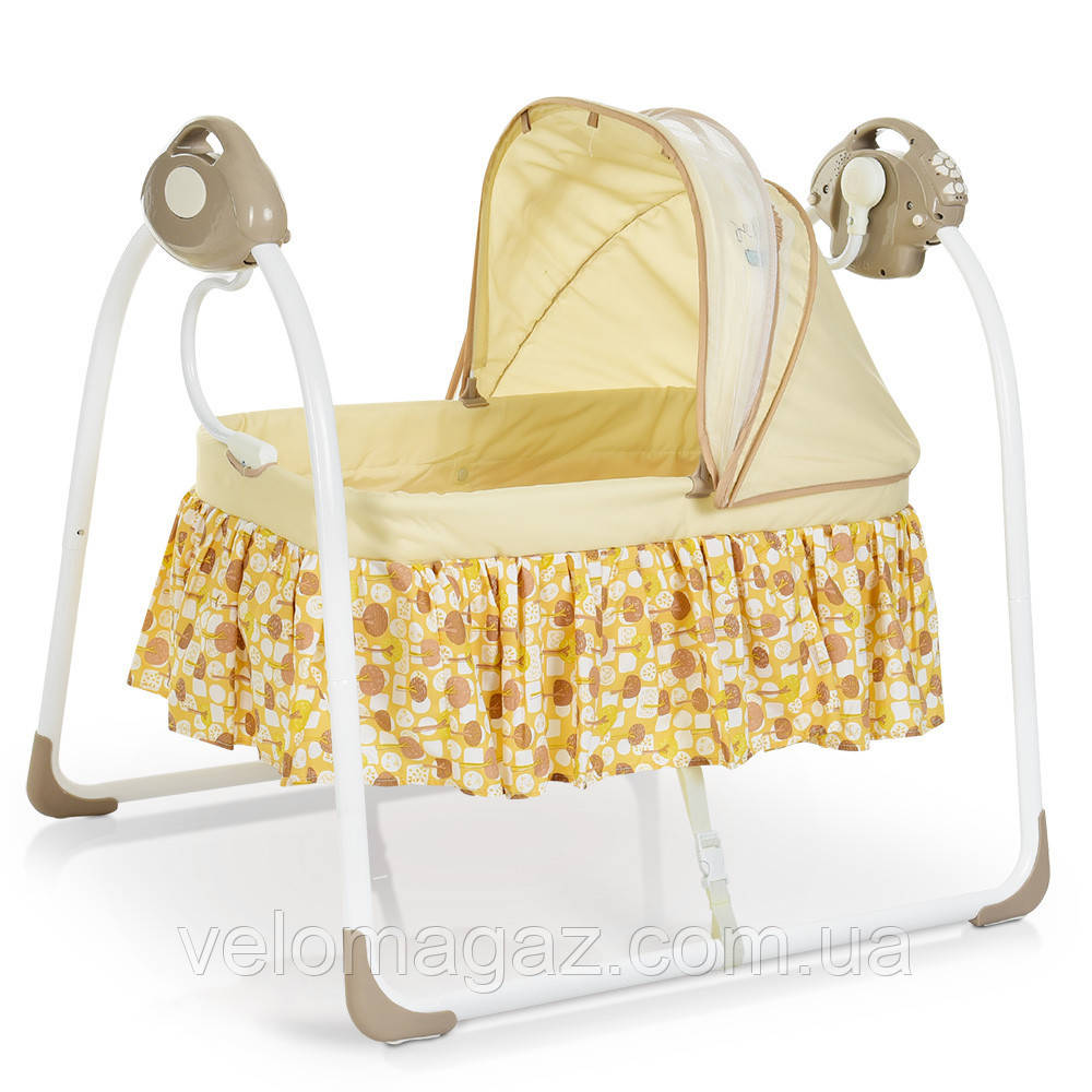 Кровать-люлька для младенцев 80308-13, бежевая