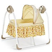 Кровать-люлька для младенцев 80308-13, бежевая, фото 1