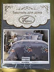 Постельное белье полуторка евро двухспалка фирмы Koloco 731-1