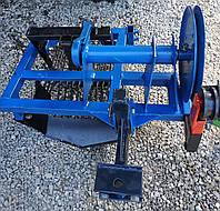 Картофелекопалка вибрационная ременная для мототрактора, фото 1