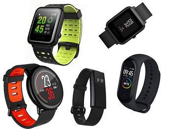 Фитнес браслеты и смарт часы