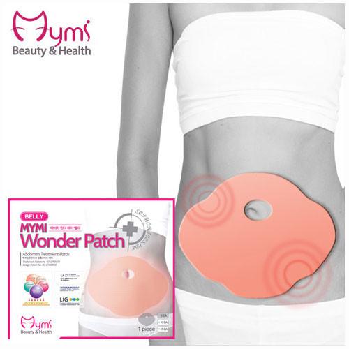 Пластырь для похудения Mymi Wonder Patch подарит плоский животик! (5шт в п/э уп) Корея
