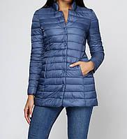 Двойная бледно-синяя куртка Honey Winter