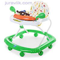 Ходунки детские Bambi M 2750 музыкальные,подвижный руль