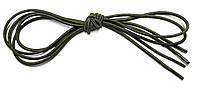 Шнурки круглі Світлий хакі гумові 90см, фото 1