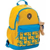 "Рюкзак-ранец ""Oxford"" жёлто-голубой"