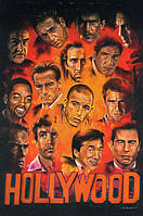 Постер Звёзды Голливуда 1, 40.6х50.8 см