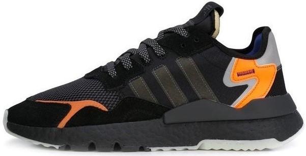 "Мужские кроссовки в стиле  Adidas Nite Jogger ""Black/Orange""  ( в стиле Найк )"