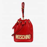 Женская сумочка-ведро от Moschino