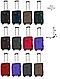 Малый дорожный  чемодан на четырёх колёсах, фото 6