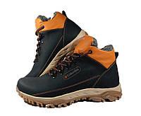Кожаные зимние ботинки Columbia