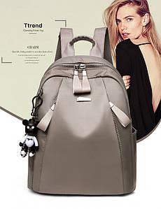 Женская рюкзак сумка HiFlash серый