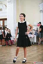Шкільний сарафан для дівчинки Шкільна форма для дівчаток MONE Україна 1295