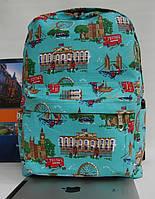 Женский рюкзак в стиле Лондон. По низкой цене. Качественный. Интернет магазин. Купить рюкзак.  Код: КРСС34