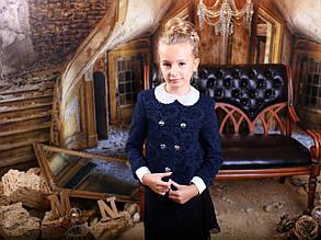 Школьный пиджак для девочки Школьная форма для девочек MONE Украины +1538