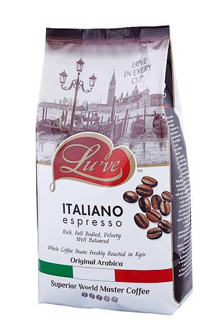 Кофе в зернах ТМ Luve ITALIANO espresso (60% арабики) 1кг, фото 2