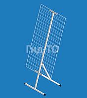 Стойка настольная наклонная с сеткой (1200х600 мм)