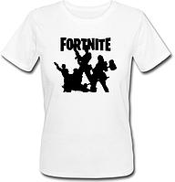 """Женская футболка Fortnite Battle Royale """"Logo"""" (белая)"""