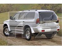 Форточка задней двери левая Mitsubishi Pajero Sport '97-08 (XYG)