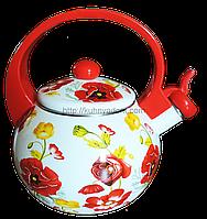 Эмалированный чайник 2.2 л.Swiss Boch SB-0017E
