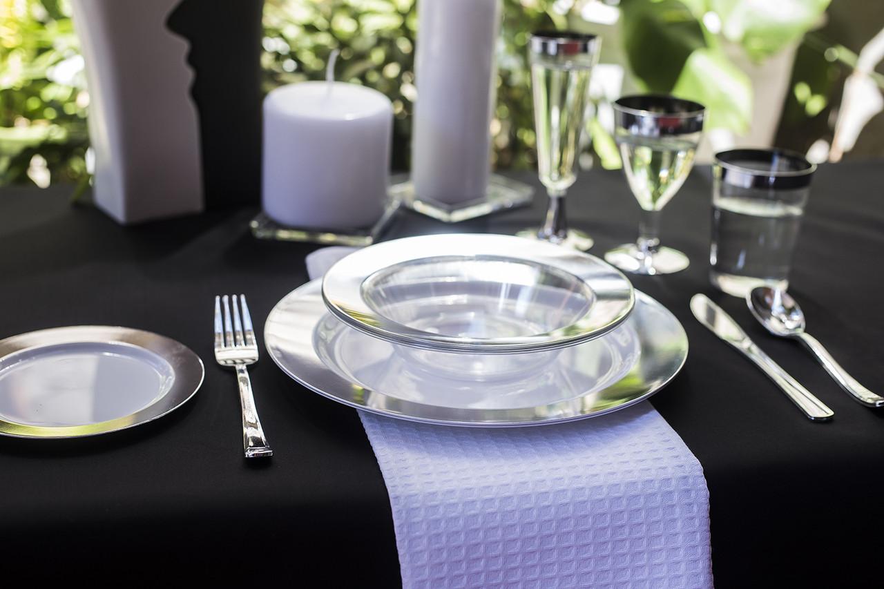 Пластиковые многоразовые тарелки глубокие для детского праздника, дня рождения CFP 6 шт 300 мл