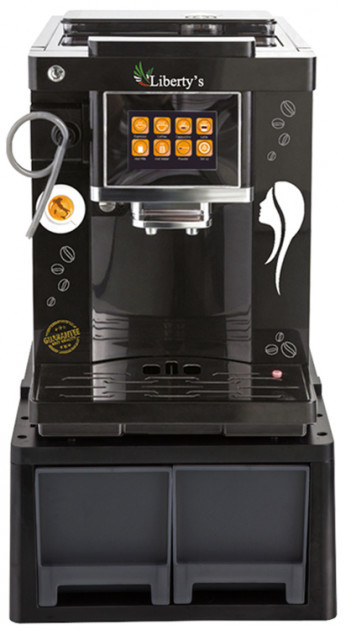 Кофемашина автоматическая профессиональная для дома, офиса и кафе Liberty`s CLT-Q007