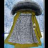 Детское зимнее пальто для девочки на меху, фото 5