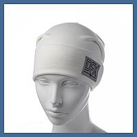 Трикотажная шапка с нашивкой DFX, фото 1