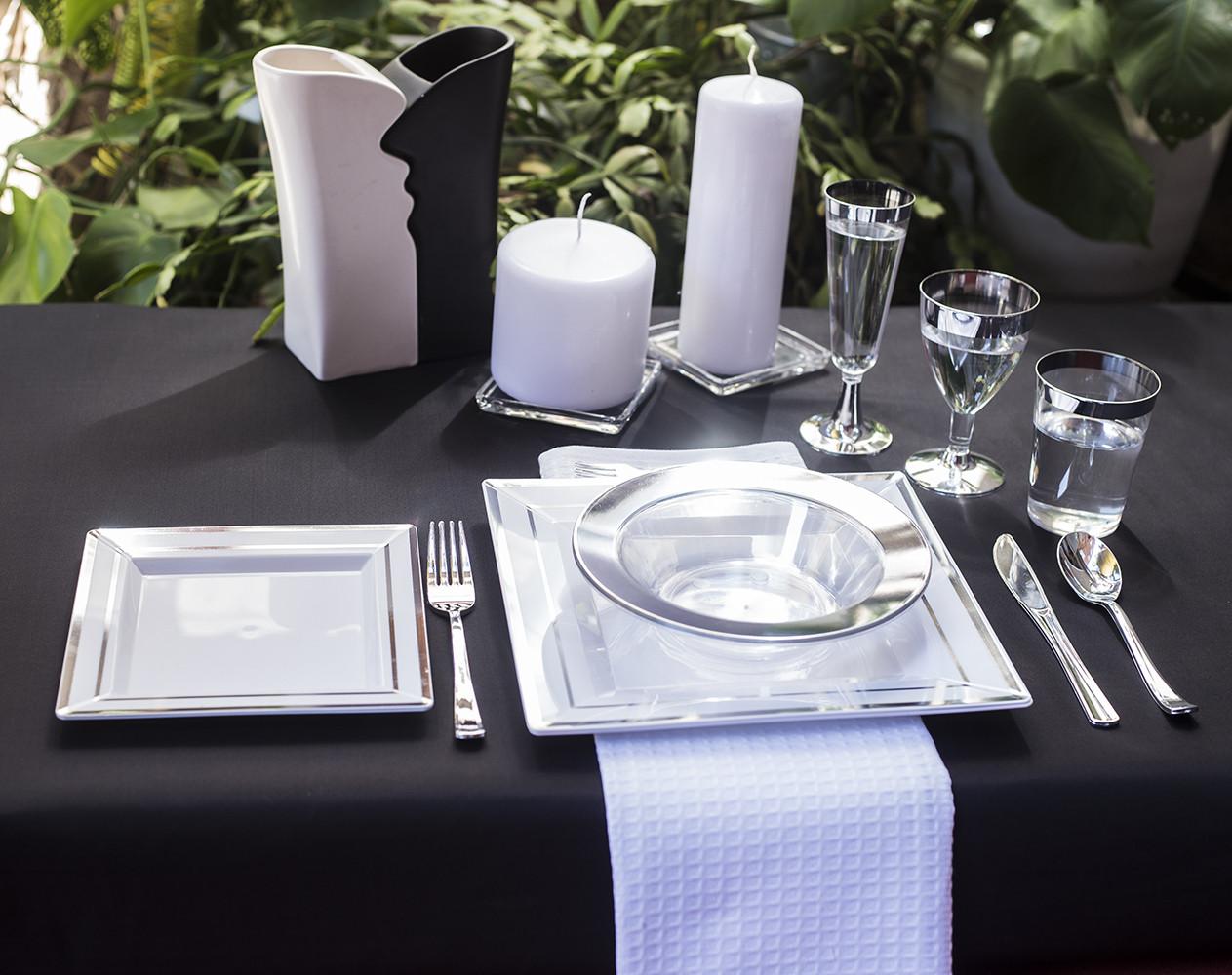 Тарелки глубокие пластиковые прочные термостойкие для пикника, выездной вечеринки CFP 6 шт 300 мл