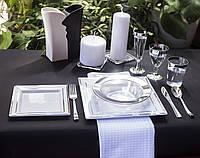 Тарелки глубокие пластиковые прочные термостойкие для пикника, выездной вечеринки CFP 6 шт 300 мл, фото 1
