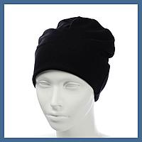 Трикотажная шапка- пустышка из вискозы, фото 1