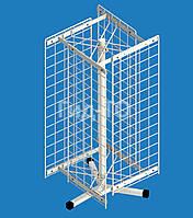 Стойка настольная вращающаяся 4 сетки (700х250) со смещением