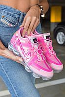 Женские кроссовки Nike Air VaporMax Pink \ Найк Вапормакс Розовые \ Жіночі кросівки Найк Вапормакс Розові