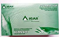 Перчатки латексные нестерильные опудренные ИГАР/ размер S