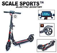 Электросамокат Scale Sports SS01. Черный