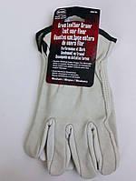 Мужские перчатки из мягкой кожи Boss, размер M
