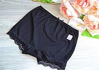 Панталоны (шорты) HNX короткие хлопок XL (50-52) черные (8800-01)