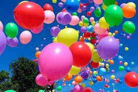 Гелиевые и воздушные шарики