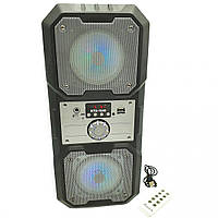 Портативная Bluetooth колонка KTS-1048, серебристая, фото 1