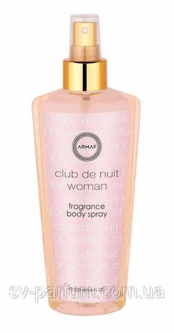 Парфюмированный спрей для тела женский Club De Nuit 250ml