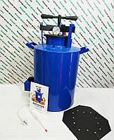 Автоклав электрический объем 30 л.На 14 литровых, 20 полулитровых банок.