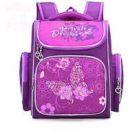 Ранец (рюкзак) школьный ортопедический Бабочка