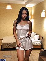 Шелковая пижама арт 9910