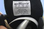 Стильные кожаные кроссовки Nike на массивной подошве унисекс, фото 3