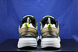 Стильные кожаные кроссовки Nike на массивной подошве унисекс, фото 6